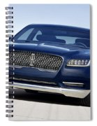 2016 Lincoln Continental Concept Spiral Notebook