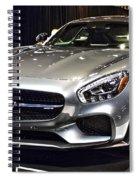 2016 Mercedes-amg Gts No 1 Spiral Notebook