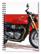 2016 Triumph 1200 Cc Motorcycle Spiral Notebook