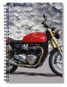 2016 Triumph Cafe Racer Motorcycle Spiral Notebook