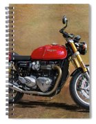 2016 Triumph Motorcycle Spiral Notebook