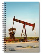 2016_10_pecos Tx_pump Jacks 2 Spiral Notebook