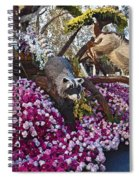 2016rose Parade Rp001 Spiral Notebook