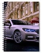 2017 Bmw M7 Spiral Notebook