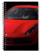 2017 Ferrari 488 Gtb Spiral Notebook