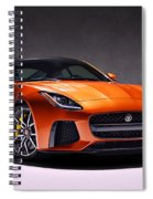 2017 Jaguar F Type Spiral Notebook