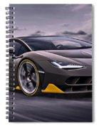 2017 Lamborghini Centenario Spiral Notebook