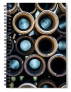 2017_05_drill Pipe Lights 1 Spiral Notebook