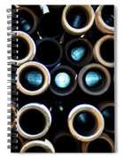 2017_05_midland Tx_drill Pipe Lights 3  Spiral Notebook
