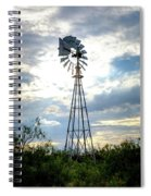 2017_08_midland Tx_windmill 2 Spiral Notebook