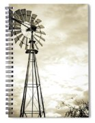 2017_08_midland Tx_windmill 3 Spiral Notebook