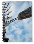 2017_08_midland Tx_windmill 5 Spiral Notebook