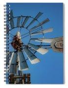2017_08_midland Tx_windmill 7 Spiral Notebook