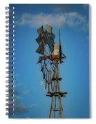 2017_08_midland Tx_windmill 8 Spiral Notebook