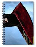 2017_09_midkiff Tx_oil Well Pump Jack Closeup 2 Spiral Notebook
