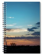 2017_09_midkiff Tx_rigs At Sunset 1 Spiral Notebook