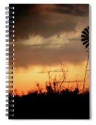 2017_09_midland Tx_windmill 1 Spiral Notebook