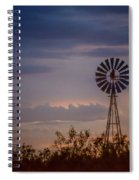 2017_09_midland Tx_windmill 11 Spiral Notebook