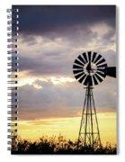 2017_09_midland Tx_windmill 3 Spiral Notebook