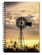 2017_09_midland Tx_windmill 6 Spiral Notebook
