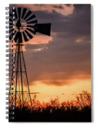2017_09_midland Tx_windmill 7 Spiral Notebook