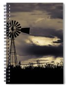 2017_09_midland Tx_windmill 8 Spiral Notebook
