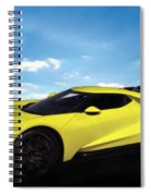2018 Ford Gt At The Track Spiral Notebook