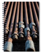 2018_04_orla Texas_oil And Gas Art Work  Spiral Notebook