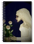 202 - Shy  Bride  2017 Spiral Notebook