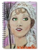 20's Glamour, Parasol Spiral Notebook