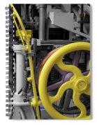 20th Century Mechanical Machinery Sc Spiral Notebook