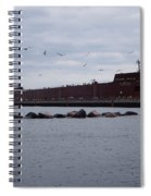 21 Gull Salute Spiral Notebook