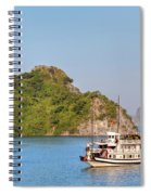 Halong Bay - Vietnam Spiral Notebook