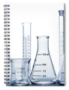 Laboratory Equipment In Science Research Lab Spiral Notebook