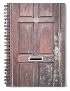 Wooden Door Spiral Notebook