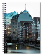 Hamburg - Germany Spiral Notebook