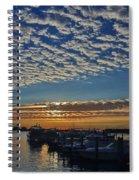 22- Magical Sunrise Spiral Notebook