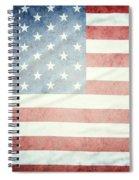 American Flag 37 Spiral Notebook