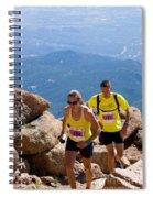 Pikes Peak Marathon And Ascent Spiral Notebook