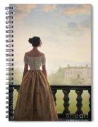 Victorian Woman Spiral Notebook