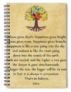 233- Osho Spiral Notebook