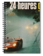 24 Hours Of Le Mans - 1971 Spiral Notebook