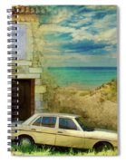 24 Hr Parking By The Beach Spiral Notebook