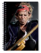 Keith Richards Collection Spiral Notebook