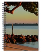 24- Morning In North Palm Beach Spiral Notebook