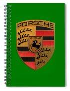 Porsche Label Spiral Notebook