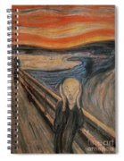 The Scream Spiral Notebook