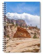 Zion Canyon National Park Utah Spiral Notebook