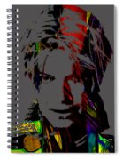 David Bowie Collection Spiral Notebook