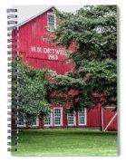 254 Salem Ohio_fa Spiral Notebook